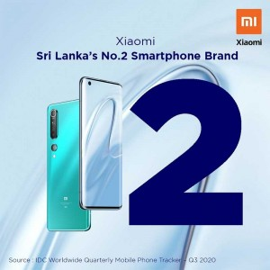 Xiaomi becomes the second largest smartphone brand in Sri Lanka