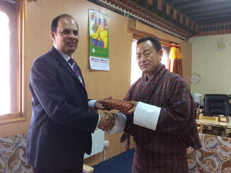 Mr. Nim Dorji Joint Secretary Ministry of Finance Bhutan