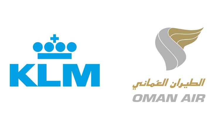 Oman-Air–KLM-Logo