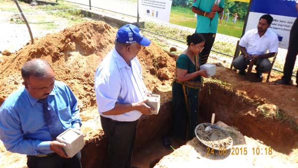 Foundation stone laying ceremony of the Wholesale and Retail Market Complex in Monaragala Town