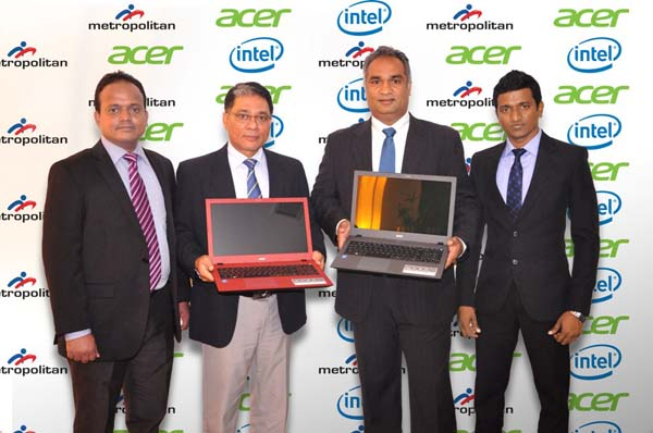 A RELEASE ENGLISH – Acer and Metropolitan, first to launch 6th Generation Intel® Core™ Processors based laptops in Sri Lanka