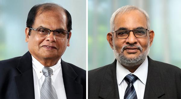 Mr Dharma Dheerasinghe and Mr Jegan Durairatnam