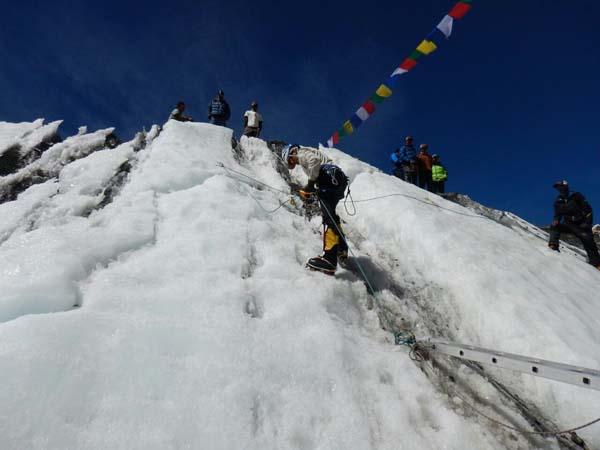 Johann Icefall Training