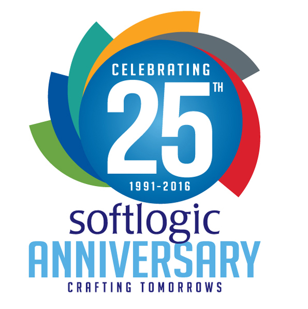 Softlogic 25 years logo