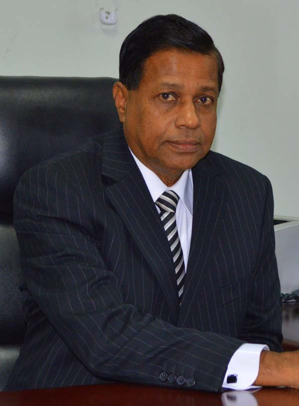 General ManagerChief Executive Officer, Mr. Nimal C. Hapuarachchi