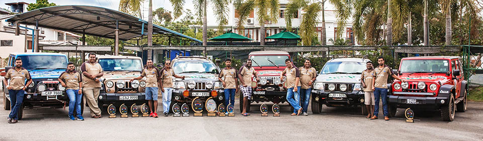 Team Jeep Dominates Jeep Colombo Challenge Rally – Leg 1