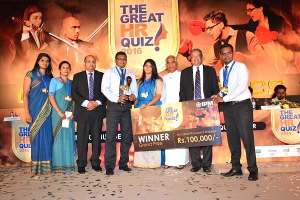 IPM HR-Quiz 2016-Winner