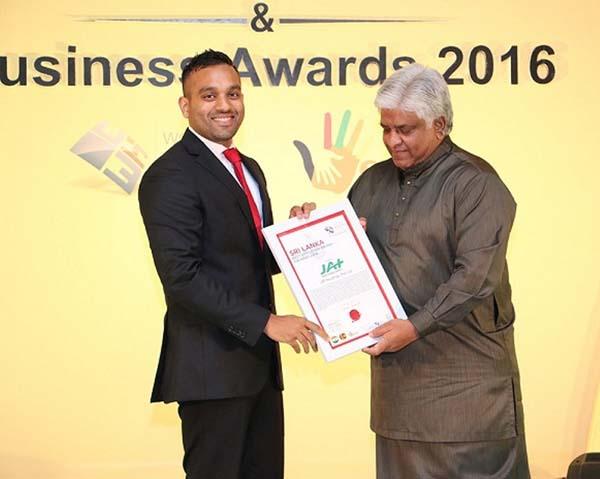 PHOTO – JAT conferred Sri Lanka Best Employer Brand Award