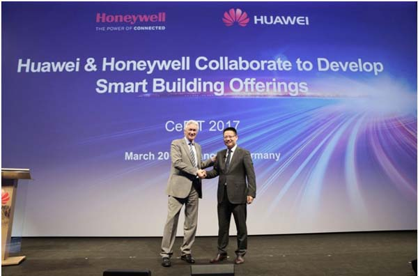 Huawei announced its collaboration with Honeywell to develop smart building offerings