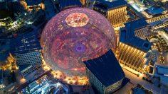 Aerial view of Al Wasl